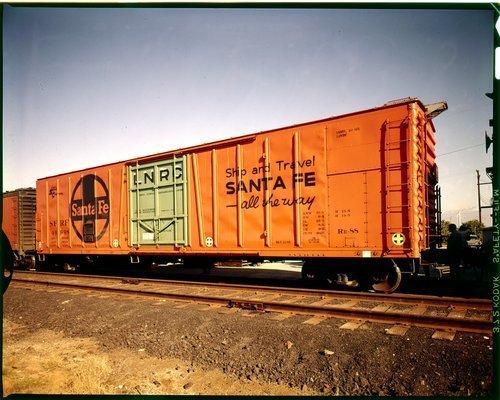 Atchison, Topeka and Santa Fe refrigeration car - Page