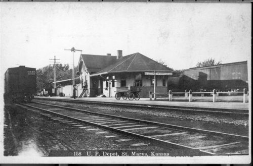 Union Pacific Railroad Company depot, St. Marys, Kansas - Page