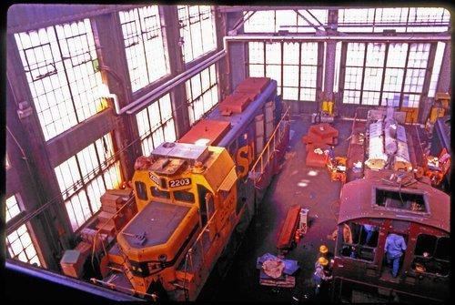 Atchison, Topeka & Santa Fe locomotive unit 2262 - Page