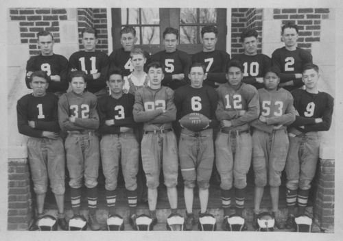 Mayetta High School football team, Mayetta, Kansas - Page