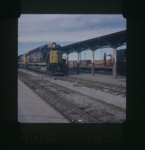 Atchison, Topeka and Santa Fe east bound freight train - Page