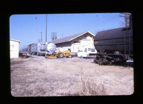 Atchison, Topeka & Santa Fe Railway Company depot, Wynnewood, Oklahoma - Page