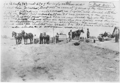 Boot Hill Cemetery, Hays, Kansas - Page