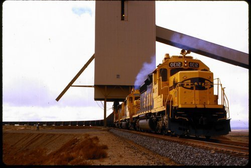 Atchison, Topeka & Santa Fe coal train in New Mexico - Page