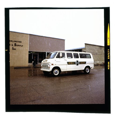 Atchison, Topeka & Santa Fe  Mobile Agent van - Page