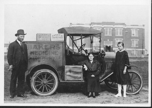 Baker's Medicine sales truck, Greenwood County, Kansas - Page