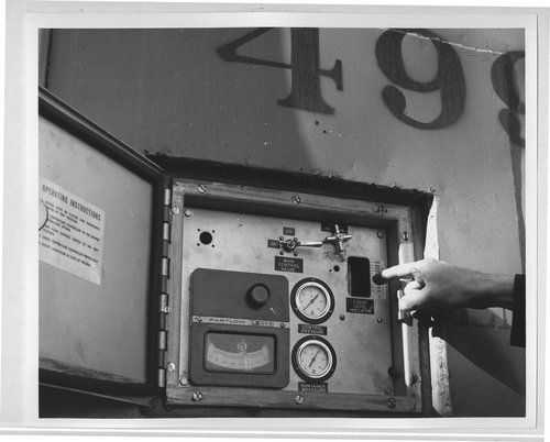 Atchison, Topeka and Santa Fe control panel for refrigeration car - Page