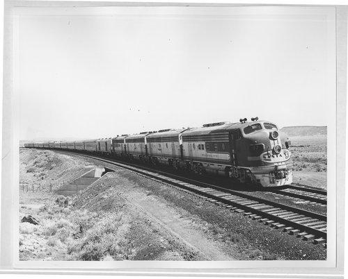 Atchison, Topeka & Santa Fe Railway Company's San Francisco Chief, Arizona - Page