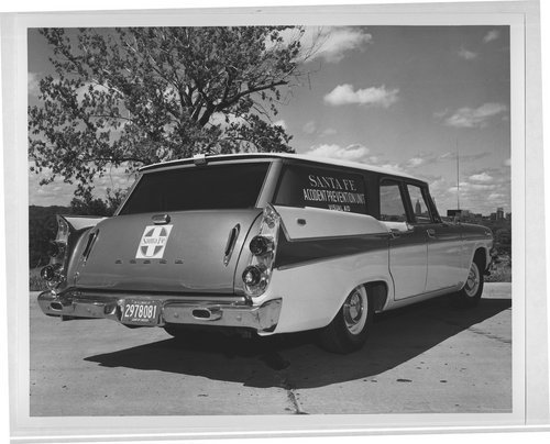 Atchison, Topeka and Santa Fe Accident Prevention Unit vehicle - Page