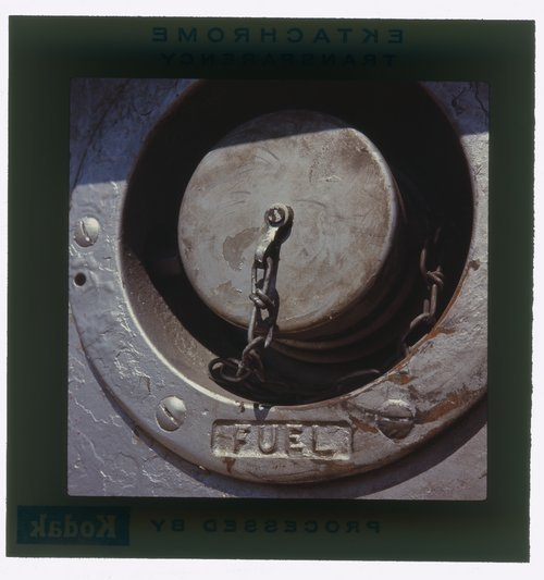Atchison, Topeka and Santa Fe fuel port on a diesel locomotive - Page