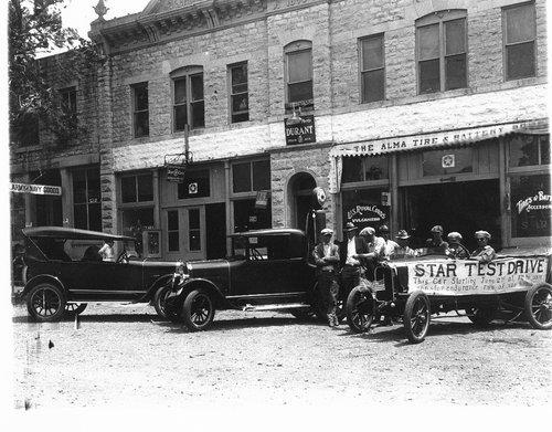 Star Cars dealership, Alma, Kansas - Page