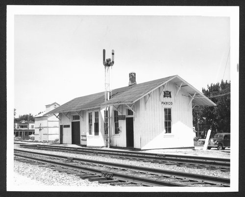 Chicago, Rock Island & Pacific Railroad depot, Paxico, Kansas - Page