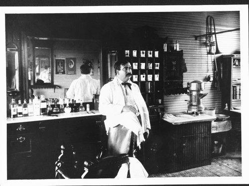 Barbershop, Paxico, Kansas - Page
