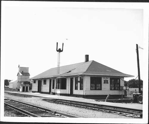 Chicago, Rock Island & Pacific Railroad depot, Alma, Kansas - Page