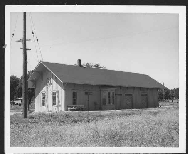 Atchison, Topeka and Santa Fe Railway Company depot, Alma, Kansas - Page