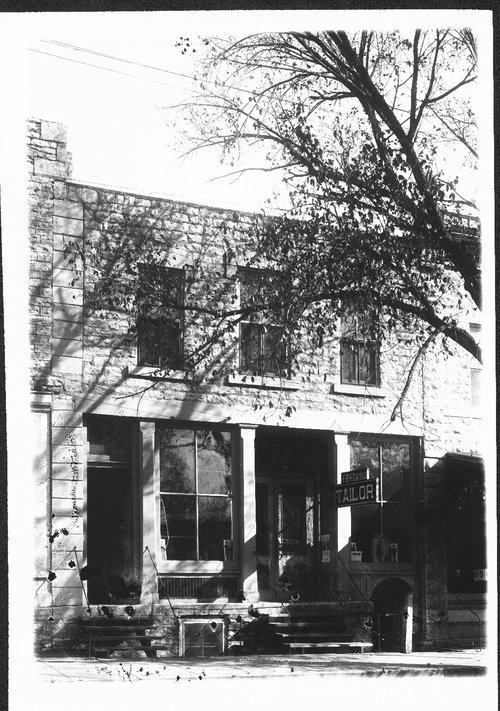 Hilberling Tailor Shop, Alma, Kansas - Page