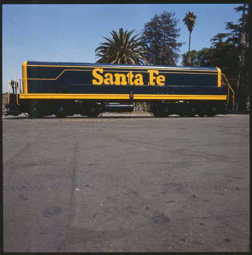 Atchison, Topeka and Santa Fe slug locomotive, San Bernardino, California - Page