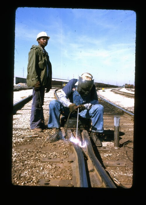 Atchison Topeka & Santa Fe welder and helper - Page