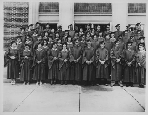 Wamego High School graduating class, Wamego, Kansas - Page