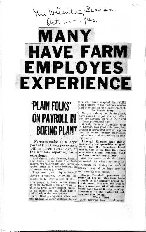 Many have farm employes experience - Page