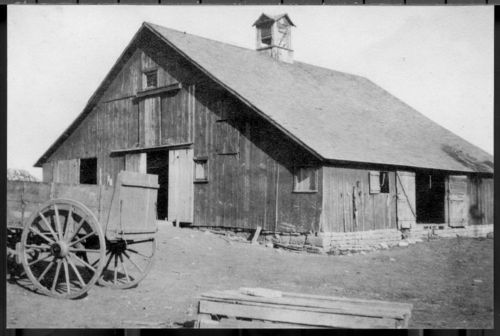 Barn on the Capsey farm, Jackson or Nemaha County, Kansas - Page