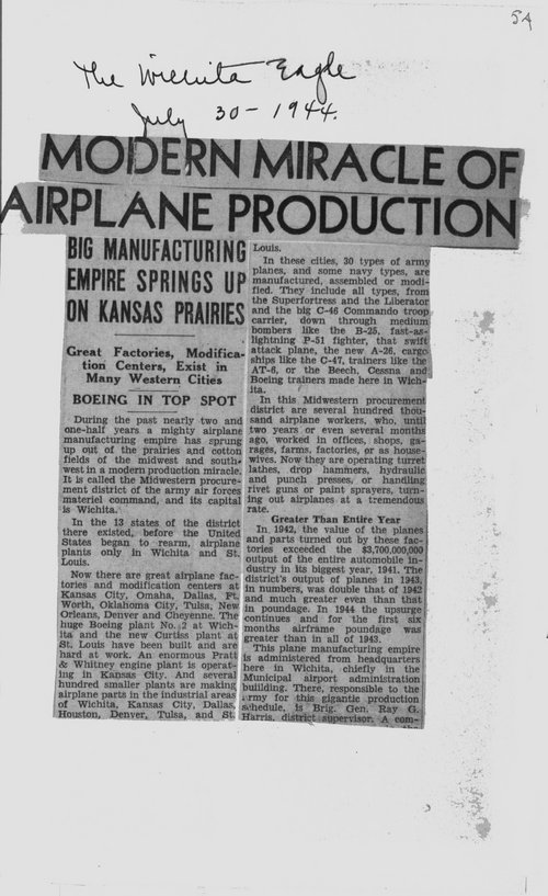 Modern miracle of airplane production - Page