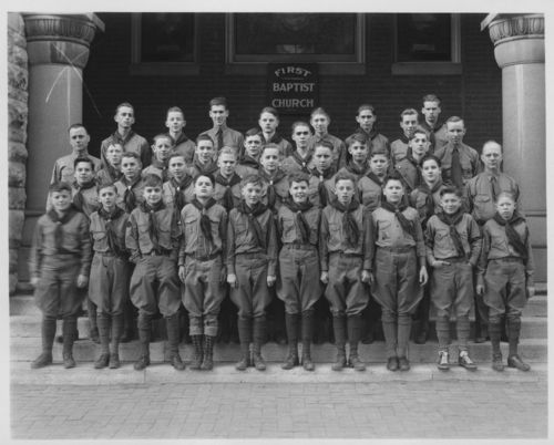 Boy Scout troop, Topeka, Kansas - Page
