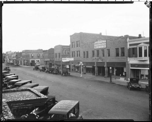 G. T. Ingalsbe Drug Store on Broadway, Marysville, Kansas - Page