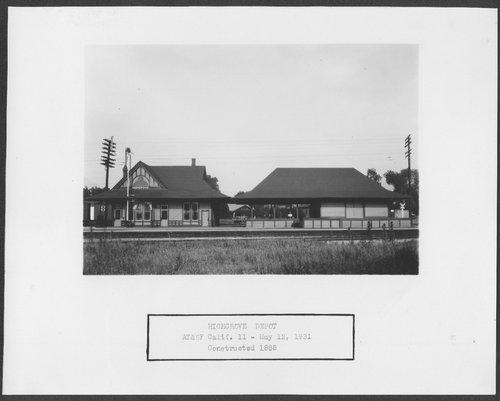 Atchison, Topeka & Santa Fe Railway Company depot, Highgrove, California - Page