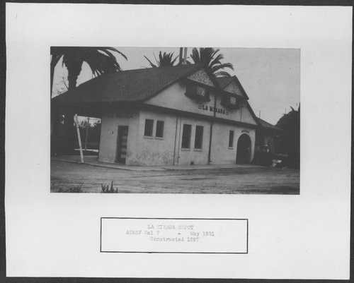 Atchison, Topeka & Santa Fe Railway Company depot, La Mirada, California - Page