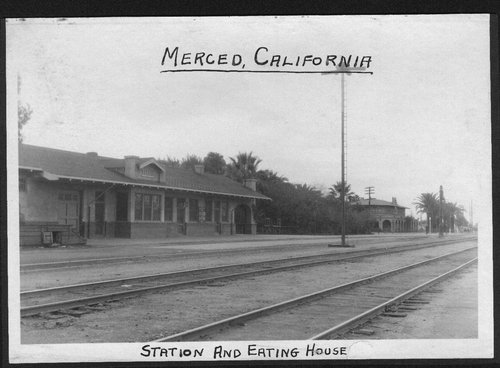 Atchison, Topeka & Santa Fe Railway Company depot and Fred Harvey House, Merced, California - Page