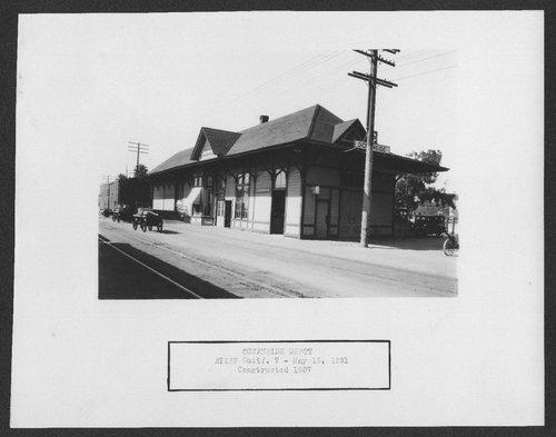 Atchison, Topeka & Santa Fe Railway Company depot, Oceanside, California - Page