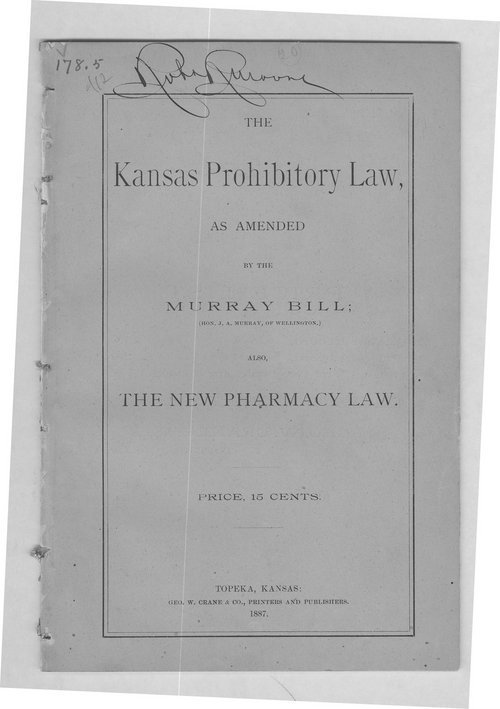 The Kansas prohibitory law - Page