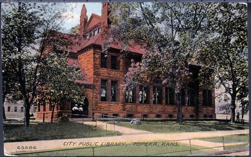 City Public Library, Topeka, Kansas - Page