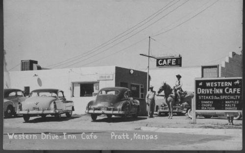 Western Drive-Inn Cafe, Pratt, Kansas - Page