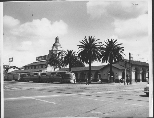 Atchison Topeka and Santa Fe Railway Company depot, San Diego, California - Page