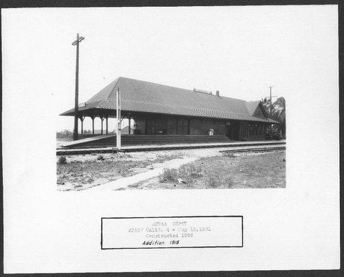 Atchison Topeka & Santa Fe Railway Company depot, Azusa, California - Page