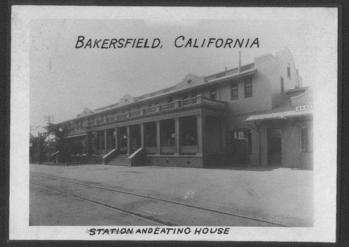 Atchison Topeka & Santa Fe Railway Company's Fred Harvey House, Bakersfield, California - Page