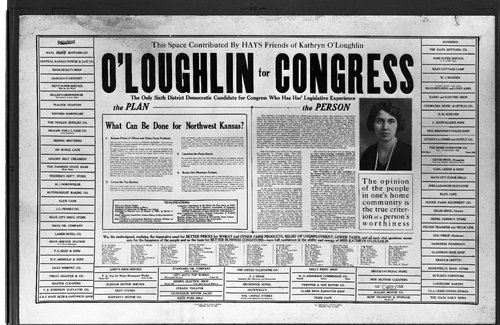 Kathryn O'Loughlin's campaign poster - Page