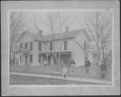 John Whitnah Leedy house, Leroy, Kansas