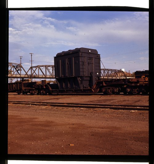 Atchison, Topeka & Santa Fe Railway Company depressed center flat - Page