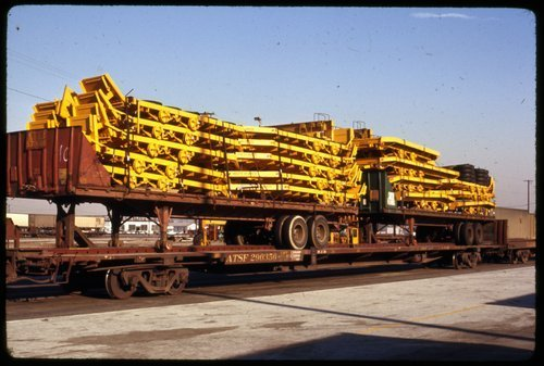 Atchison, Topeka & Santa Fe Railway Company flat car - Page