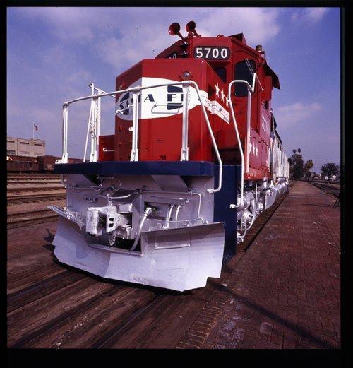 Atchison, Topeka & Santa Fe Railway Company's Bicentennial  5700 - Page