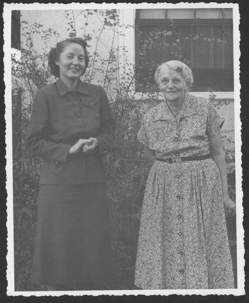 Verena Zeller and Mary Ottilia Meinhardt Zeller - Page