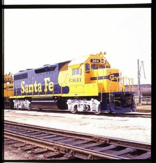 Atchison, Topeka & Santa Fe Railway Company engine #3611 - Page