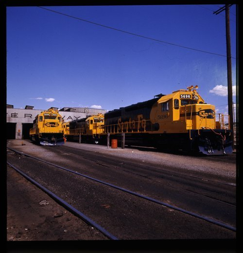 Atchison, Topeka & Santa Fe Railway Company's diesel service station, Barstow, California - Page