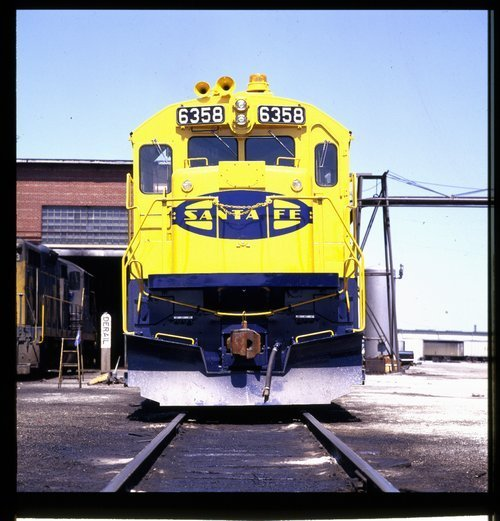 Atchison, Topeka & Santa Fe Railway Company locomotive  #6358 - Page