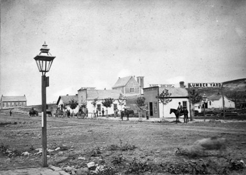 Street scene, Council Grove, Kansas - Page