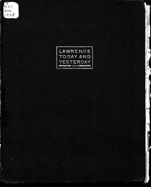 Lawrence--Today and Yesterday - Page