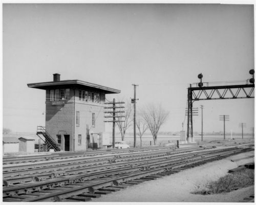 Atchison, Topeka & Santa Fe Railway Company tower, Merrick, Kansas - Page